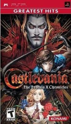 Castlevania: The Dracula X Chronicles [Greatest Hits] Cover Art