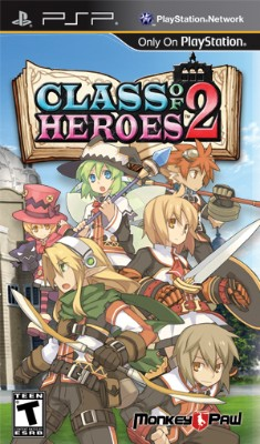 Class of Heroes 2 Cover Art