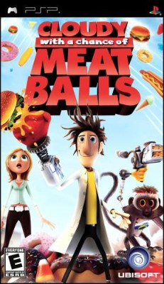 Cloudy with a Chance of Meatballs Cover Art