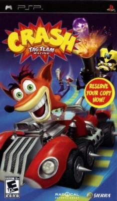 Crash: Tag Team Racing Cover Art