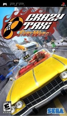 Crazy Taxi: Fare Wars Cover Art