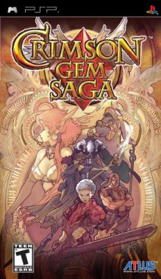 Crimson Gem Saga Cover Art