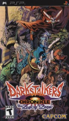 Darkstalkers Chronicle: The Chaos Tower Cover Art