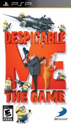 Despicable Me: The Game Cover Art