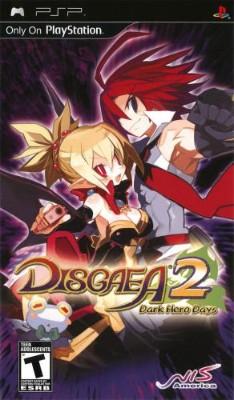 Disgaea 2: Dark Hero Days Cover Art