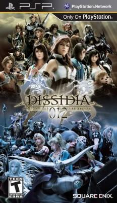 Dissidia 012: Duodecim Final Fantasy Cover Art