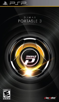DJ Max Portable 3 Cover Art