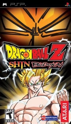 Dragon Ball Z: Shin Budokai Cover Art