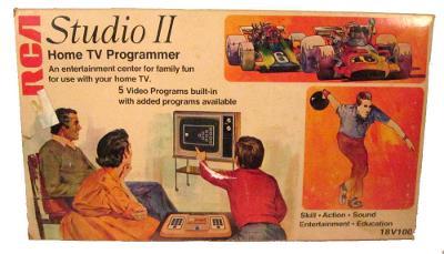 RCA Studio II [Home TV Programmer]