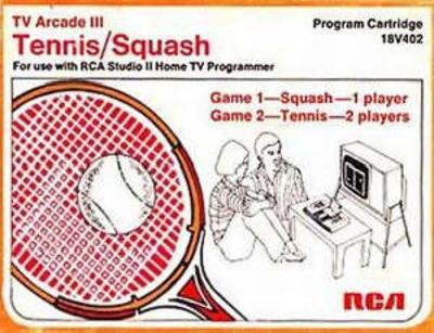 Tennis / Squash Cover Art