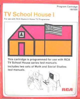 TV School House Cover Art