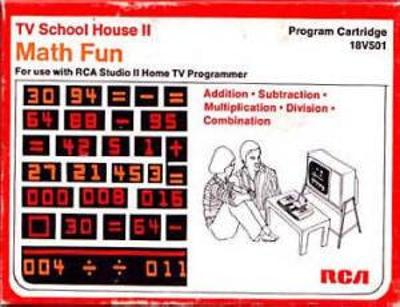 TV School House II: Math Fun Cover Art