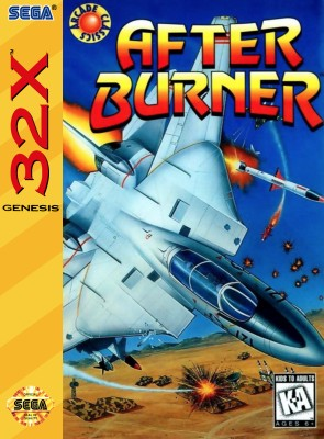 After Burner Cover Art