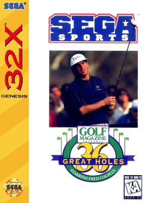 Golf Magazine: 36 Great Holes Starring Fred Couples Cover Art
