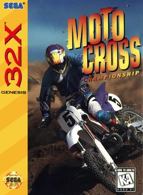 Motocross Championship Cover Art