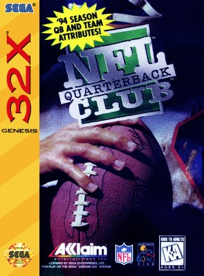 NFL Quarterback Club Cover Art