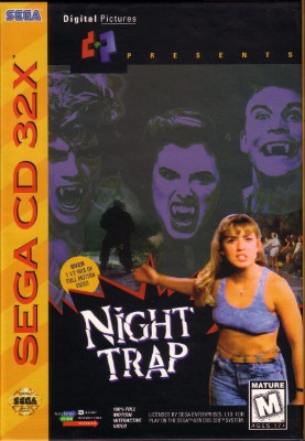 Night Trap Cover Art