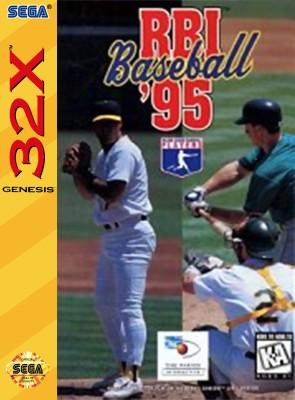 RBI Baseball 95 Cover Art