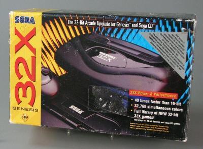 Sega 32x Console Cover Art