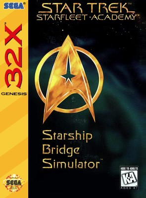Star Trek: Starfleet Academy Starship Bridge Simulator Cover Art