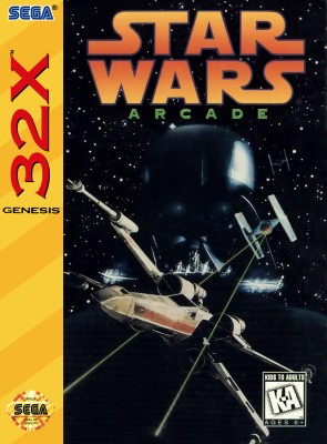Star Wars Arcade Cover Art
