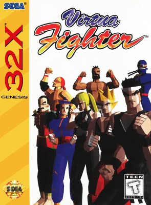 Virtua Fighter Cover Art