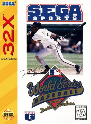 World Series Baseball: Starring Deion Sanders Cover Art