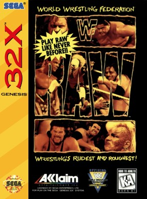 WWF Raw Cover Art