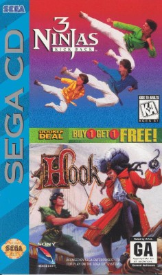 3 Ninjas Kick Back / Hook Cover Art