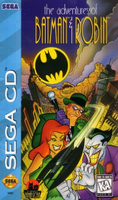 Adventures of Batman & Robin Cover Art