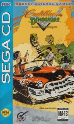 Cadillacs and Dinosaurs Cover Art