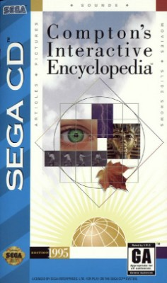 Compton's Interactive Encyclopedia Cover Art