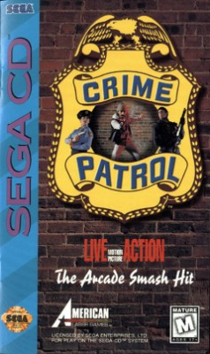 Crime Patrol Cover Art