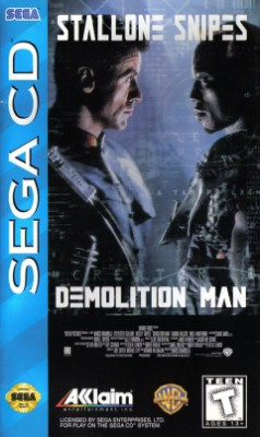 Demolition Man Cover Art