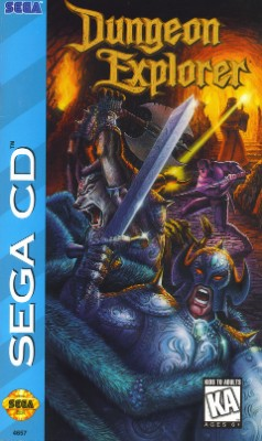 Dungeon Explorer Cover Art
