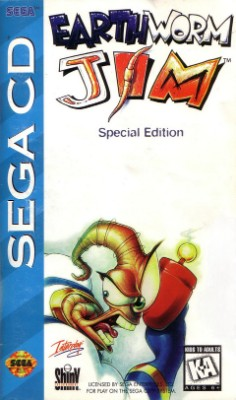 Earthworm Jim Special Edition Cover Art