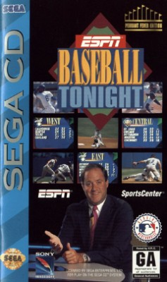 ESPN Baseball Tonight Cover Art