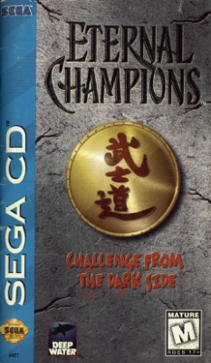 Eternal Champions: Challenge from the Dark Side Cover Art