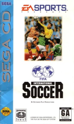 FIFA International Soccer Cover Art