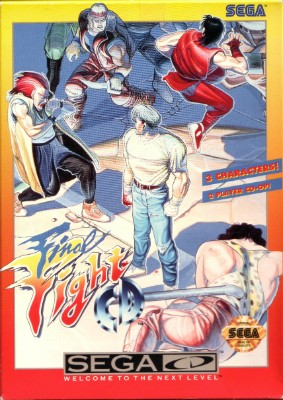 Final Fight CD Cover Art