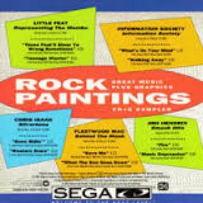 Hot Hits / Rock Paintings Cover Art
