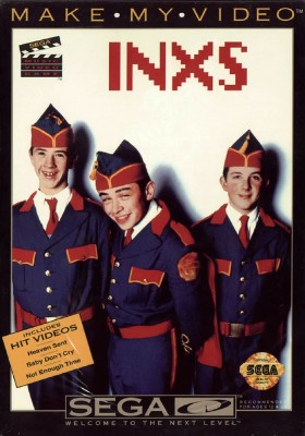 INXS: Make My Video Cover Art