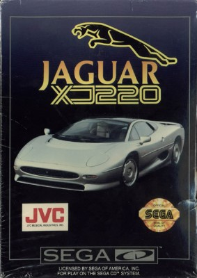Jaguar XJ220 Cover Art