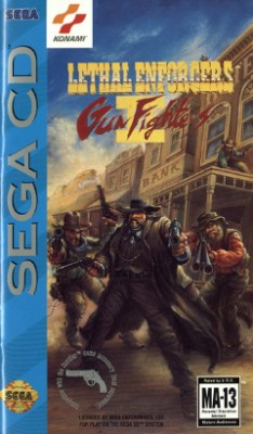 Lethal Enforcers II: Gunfighters Cover Art