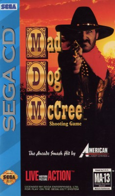 Mad Dog McCree Cover Art