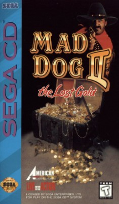 Mad Dog II: The Lost Gold Cover Art