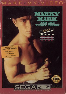 Marky Mark and the Funky Bunch: Make My Video Cover Art