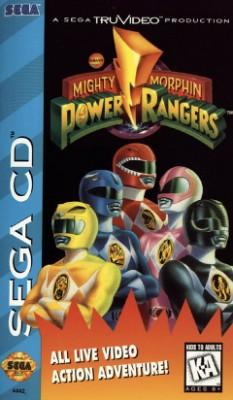 Mighty Morphin Power Rangers Cover Art