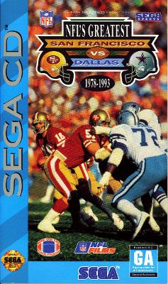 NFL's Greatest: San Francisco Vs. Dallas 1978-1993 Cover Art