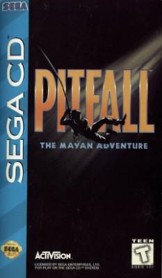 Pitfall: The Mayan Adventure Cover Art